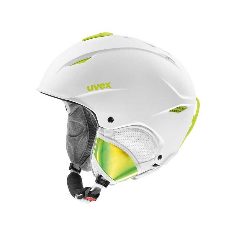 Kask Uvex Primo White Lime Mat 566227-16