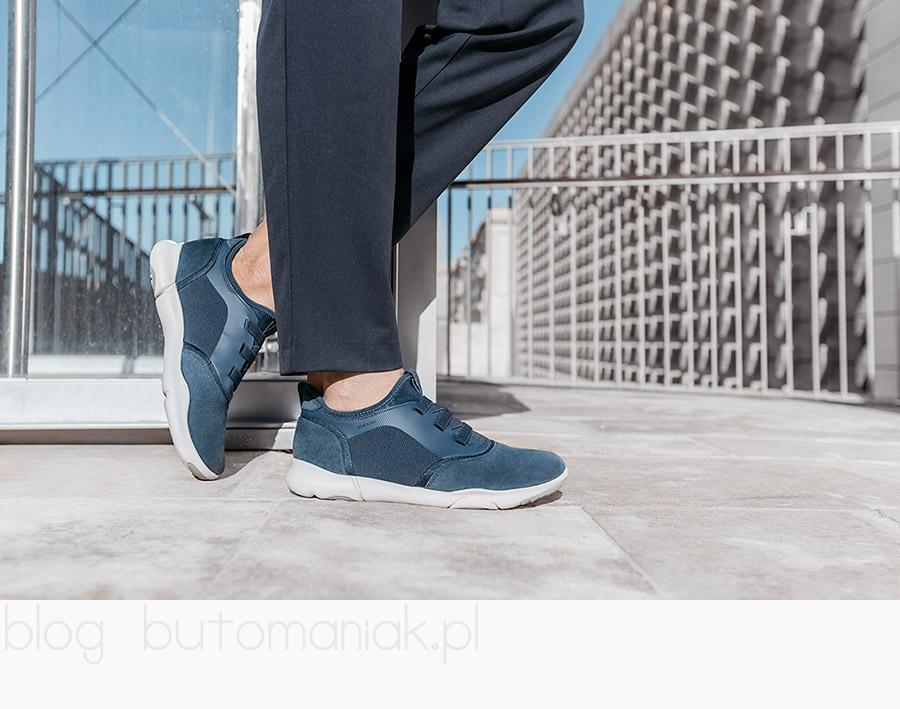 GEOX U NEBULA U825AA 02211 C4000  Męskie miejskie obuwie idealne do codziennego używania, gwarantujące komfort przez cały dzień.