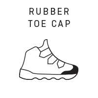 RUBBER TOE CUP
